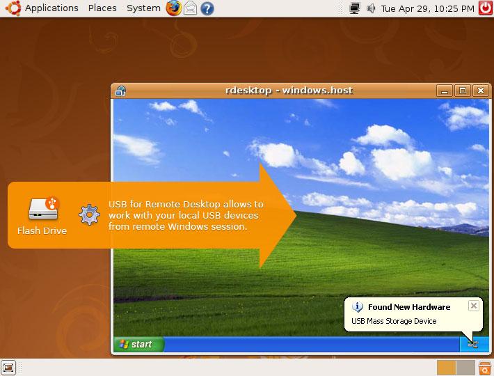 USB for Remote Desktop for Linux
